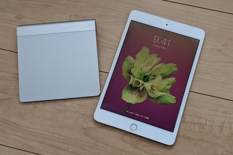 iPad とトラックパッド