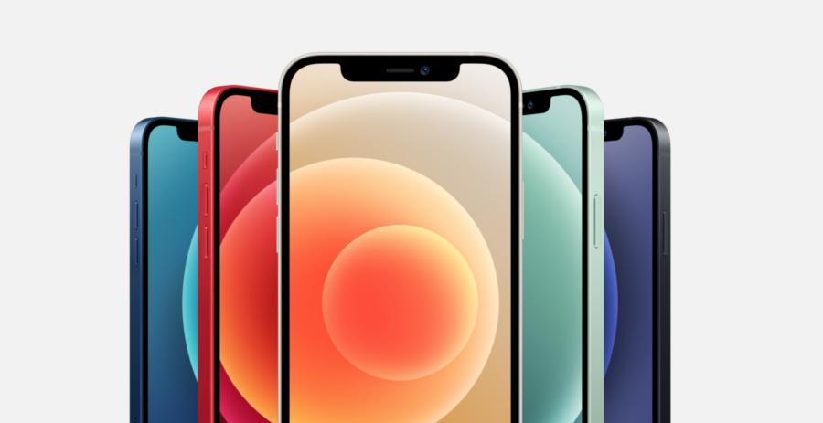 iPHone 12 5色